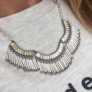 Stella & Dot Twilight Fringe Necklace